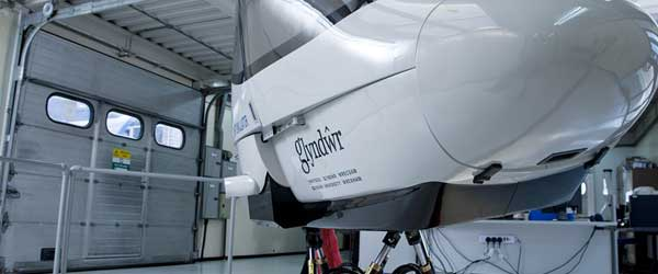 Flight Simulator in Wrexham Glyndŵr University